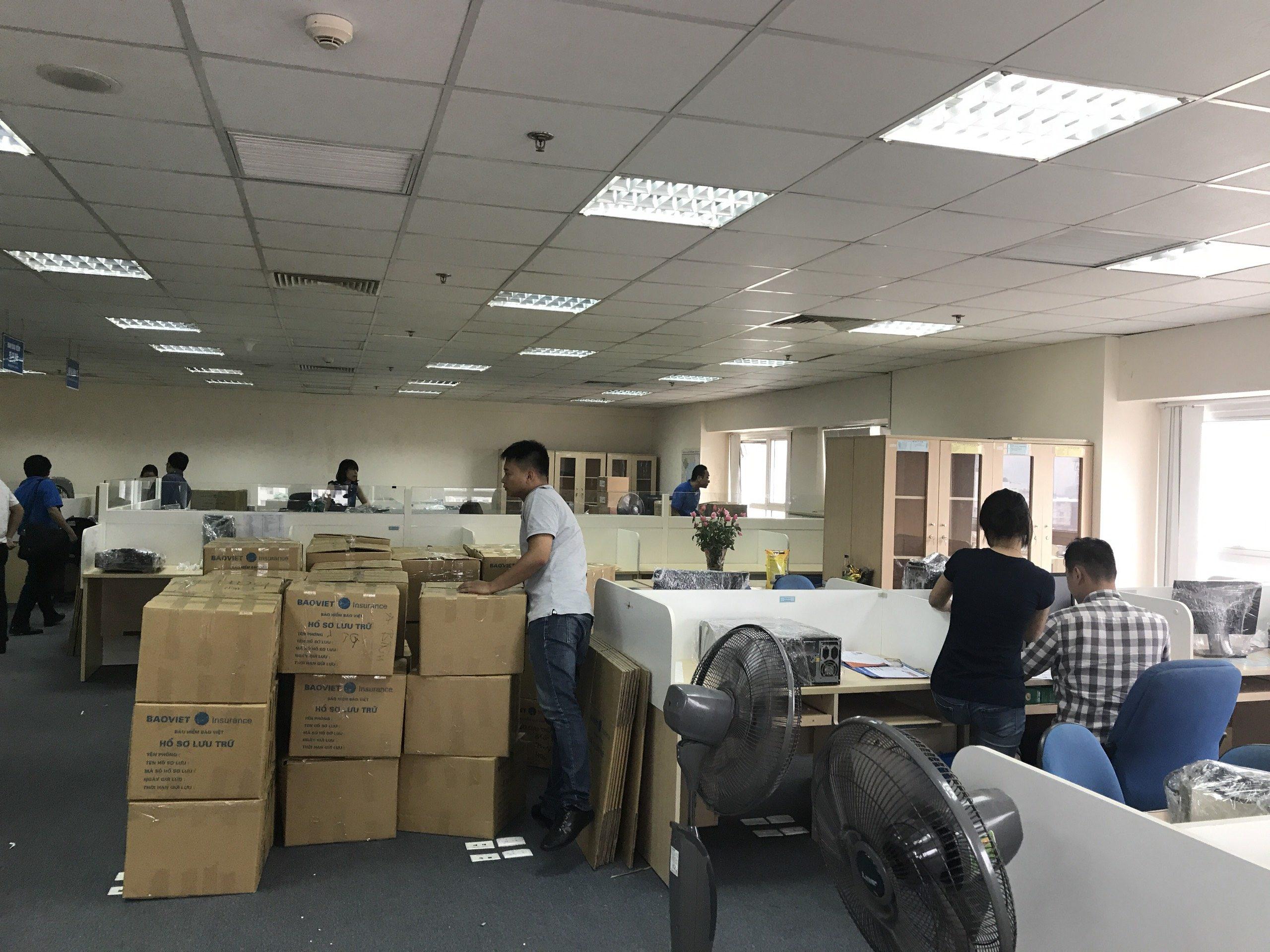 Chuyển Văn Phòng công ty Bảo hiểm Bảo Việt từ 41 Hai Bà Trưng
