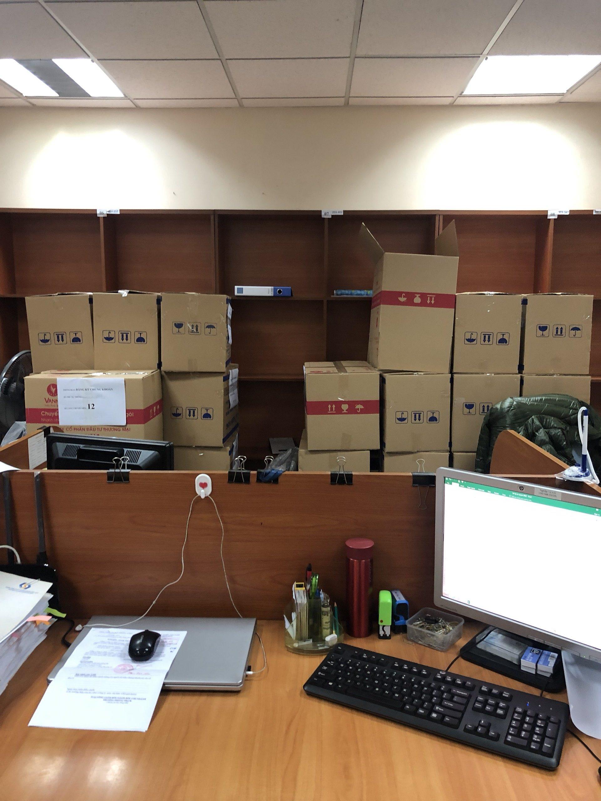 Chuyển văn phòng Trung tâm lưu ký chứng khoán Việt Nam về trụ sở mới Hoàng Quốc Việt