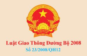 Luat Giao Thong Duong Bo 2008 1 1