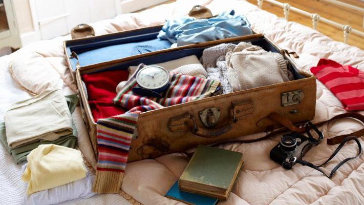 Sắp xếp đồ đạc tối ưu khi đi du lịch